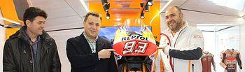 Inauguración exposición 'Repsol Racing Tour'.