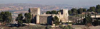 Castillo de San Servando, del siglo XIV, construido sobre un castillo de origen musulmán.