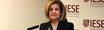 Fátima Báñez (Ministerio de Empleo y Seguridad Social). Foto: Ministerio de Empleo y Seguridad Social.