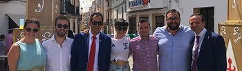 NNGG Toledo participa en las Fiestas de Santa Cruz de la Zarza