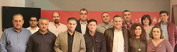 Reunión PSOE Albacete - UPA.