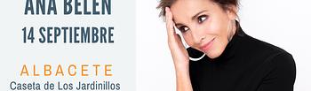 Ana Belén actuará en Albacete el 14 de septiembre