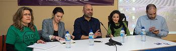 Podemos presenta en Albacete su Ley 25 de emergencia social.