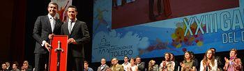 Álvaro Gutiérrez entrega el Premio Diputación