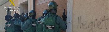 "Operación ""Fabrilia"". Foto: Guardia Civil."