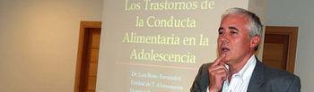 Luis Beato al comienzo de su intervención.