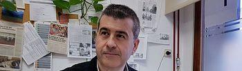 Floren Alfaro Simarro, presidente del Colegio Oficial de Trabajo Social de Castilla La Mancha.