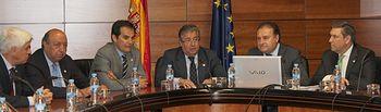 El ministro del Interior, Juan Ignacio Zoido, ha visitado en Madrid, la sede del Centro de Inteligencia contra el Terrorismo y el Crimen Organizado (CITCO).