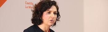 Orlena De Miguel, portavoz de CS.