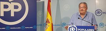 Juan Antonio De las Heras, senador del PP por Guadalajara.