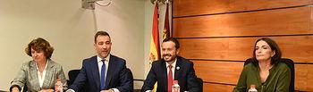 El consejero de Desarrollo Sostenible, José Luis Escudero, comparece, en las Cortes de Castilla-La Mancha, para dar cuenta de la política de Desarrollo Sostenible para esta legislatura. (Fotos: José Ramón Márquez // JCCM).