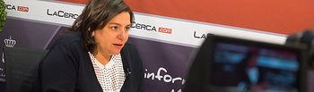 Cesárea Arnedo, diputada regional del Partido Popular en las Cortes de Castilla-La Mancha.