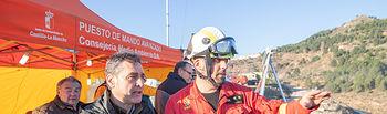 """Tierraseca valora """"la coordinación y la rapidez"""" de actuación en el incendio de Paterna del Madera"""