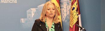 Gema Guerrero, portavoz de Economía, Empresas y Empleo del Grupo Parlamentario Popular en las Cortes de Castilla-La Mancha.