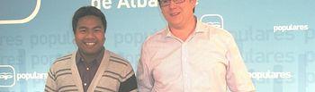 Max Monasor y José Antonio Sybounheuang.
