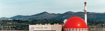 Central nuclear José Cabrera, más conocida como Zorita, en la provincia de Guadalajara.