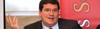 El albaceteño José Luis Escrivá (AIReF), nuevo ministro de Seguridad Social, Inclusión y Migraciones. Imagen de archivo de la intervención de Escrivá en un Fórum sobre Economía organizado por el Grupo Multimedia de Comunicación La Cerca en Albacete.
