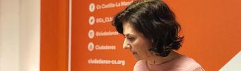 Orlena De Miguel, portavoz de Cs CLM