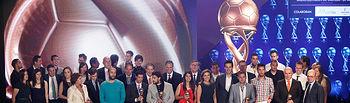 Cospedal preside la entrega del Premio Balon de Oro de CLM1. Foto: JCCM.