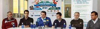 Eladio Freijo, concejal de Deportes, presenta la intensa activiad deportiva de la Semana Santa