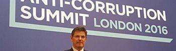 El ministro de Justicia, Rafael Catalá durante la Cumbre Internacional (Foto: Ministerio de Justicia)