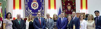 Paco Núñez asiste a los actos con motivo del día de los Ángeles Custodios, patrones de la Policía Nacional.