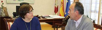 Carmen Olmedo con Sindicato Medico de CLM.