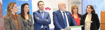 Presentación oficial realizada en la Oficina de la Junta de Comunidades en Madrid.