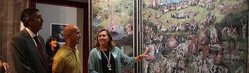 Ciudad Real, 11 de octubre de 2019.- La consejera de Educación, Cultura y Deportes, Rosa Ana Rodríguez, visita el IES 'Atenea' de Ciudad Real. (Foto: Gustavo Martín // JCCM).