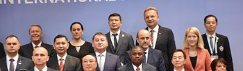 El vicepresidente regional ha participado en el I Foro Internacional de Cooperación 'Belt and Road'.