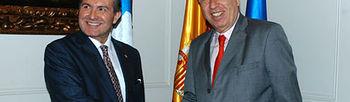 García Margallo y su homólogo de Panamá