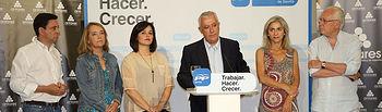 El vicesecretario general de Política Autonómica y Local del PP, Javier Arenas