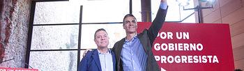 Pedro Sánchez interviene en el Consejo de Política Municipal en Toledo.  Foto: Eva Ercolanese.