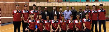 Club Voleibol Hervás Cuenca.
