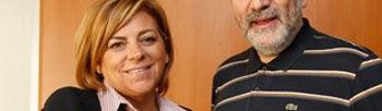 Elena Valenciano y Jesús Rodríguez