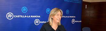 Ana Guarinos, en rueda de prensa.