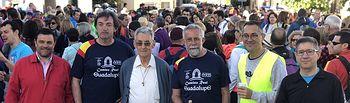 Ramos pide la colaboración de las administraciones para que el Camino Real de Guadalupe tenga más peregrinos
