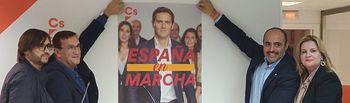 Pegada de Carteles Ciudadanos Ciudad Real.