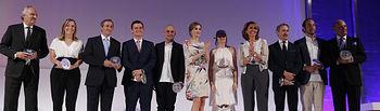 S.M. la Reina Letizia entrega los Premios Nacionales de la Moda