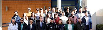 Bienvenida  a los 22 nuevos agentes de la Policía Local.