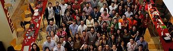 Foto de familia de los participantes en la 57 asamblea general ordinaria de la CREUP. Foto: @CREUPCREUP