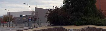 Glorieta donde se ubica  el Cuartel de la Guardia Civil de Azuqueca de Henares.