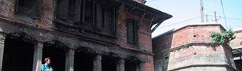 La ciudad de los muertos de Katmandú antes del terremoto. Foto: Abreu - Delgado - Boileau para INTEF.