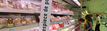 UPA denuncia un acuerdo oculto de la gran distribución para vender pollo un 20% por debajo de lo que cuesta producirlo. Foto: UPA.