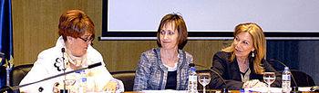 Ana de la Hoz, asiste en Albacete al foro que ha debatido sobre la prostitución