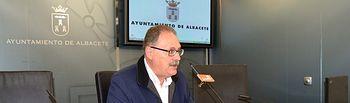 El portavoz del Grupo Municipal Socialista en el Ayuntamiento de Albacete, Antonio Martínez