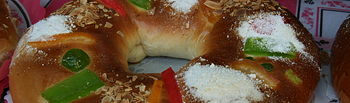 Roscón de Reyes. Foto: Tamorlan. Wikimedia