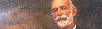 Retrato de Francisco Giner de los Ríos.