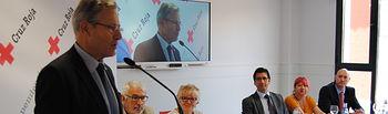 nauguración de las nuevas instalaciones provinciales de Cruz Roja Española en Ciudad Real