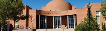 Vicerrectorado del campus universitario de Albacete.